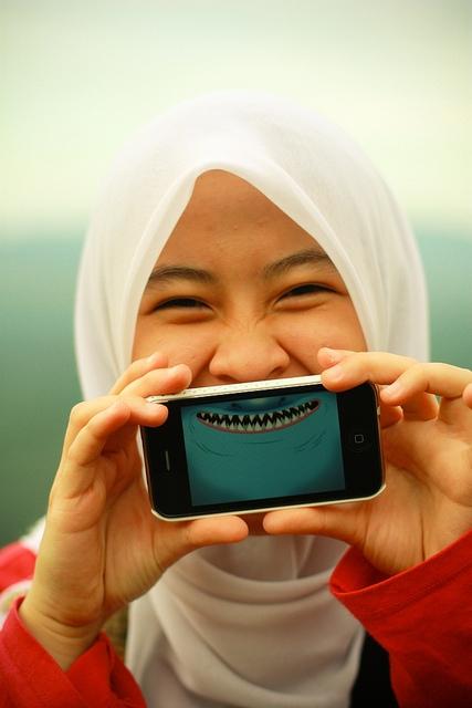 Kényszerítse magát a mosolygásra, hogy ne legyen stresszes...