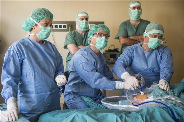 Megkezdődtek a műtétek a kiskunfélegyházi kórház egynapos sebészeti osztályán
