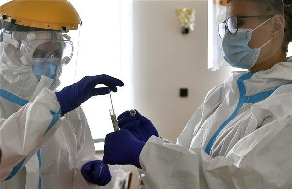 Koronavírus - Országos szűrővizsgálat-sorozat - Szentmártonkáta