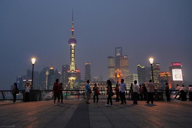 Sűrű szmog borítja Sanghajt is
