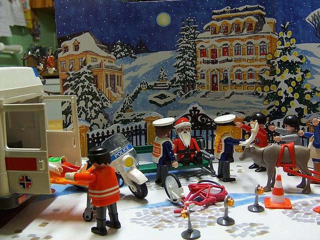 Több a baleset, sérülés karácsonykor